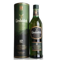 40°英国格兰菲迪12年单一纯麦威士忌700ml