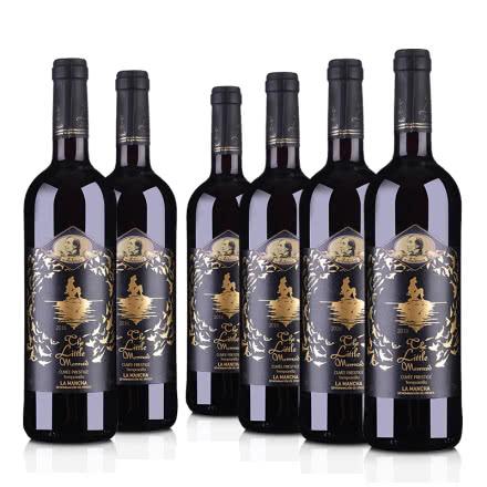 西班牙安徒生美人鱼干红葡萄酒750ml*6