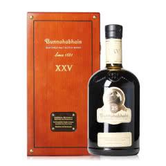 46.3°英国布纳哈本25年单一麦芽威士忌700ml