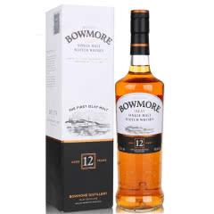 40°英国波摩12年单一麦芽威士忌酒700ml