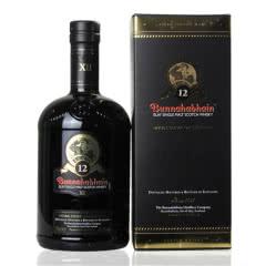 46.3°英国布纳哈本12年艾雷岛单一麦芽威士忌700ml