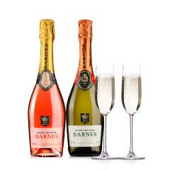 醉梦红酒 芭诺斯起泡酒双支组合送精美香槟杯 750ml*2