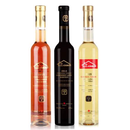 加拿大派利特瑞酒庄VQA级3支装 原瓶原装进口葡萄酒