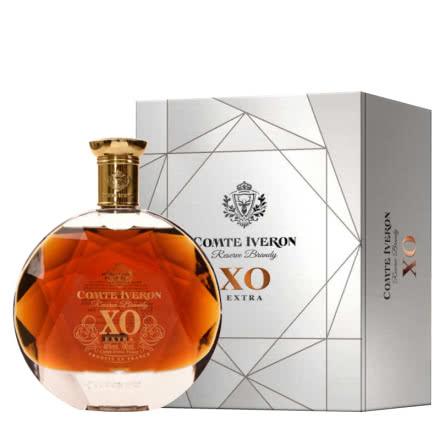 40°法国(原瓶进口)邑龙伯爵XO白兰地洋酒700ml*1瓶