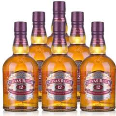 40°芝华士12年苏格兰威士忌700ml(6瓶装)