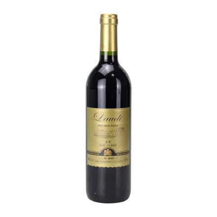 法国进口原酒葡萄酒罗蒂欧柏特干红葡萄酒红单瓶装750ml