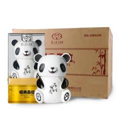 贵州茅台集团经典熊猫造型茜茜52度500ml浓香型白酒礼盒装 6瓶整箱
