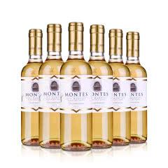 智利套装蒙特斯晚收贵腐甜白葡萄酒375ml(6瓶装)
