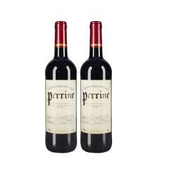 法国红酒法国(原瓶进口)红酒整箱 修士干红葡萄酒原装正品包邮750ml*2