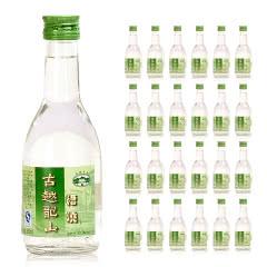 古越龙山 50度 手工精酿酿糟烧白酒 250ML*24瓶 整箱