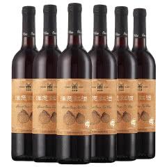 丰收精选级洋葱红酒 750mL*6瓶 洋葱半干红葡萄酒 整箱