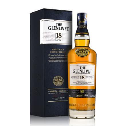 40°格兰威特18年醇萃单一麦芽威士忌700mL