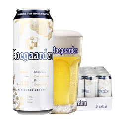 比利时风味福佳白小麦白啤酒500ml(18听装)