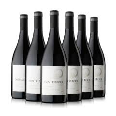 加拿大整箱彩岩西拉干红葡萄酒750ml(6瓶套)