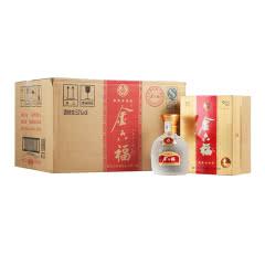 52°金六福五星 浓香型 白酒礼盒装500ml*6(每箱送礼品袋3个)