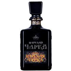 进口伏特加 俄罗斯沙皇伏特加洋酒鸡尾酒基酒葵花黑瓶500ml送酒杯