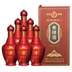 52度藏佳纯青稞酒青稞原浆浓香型白酒500ml6瓶整箱