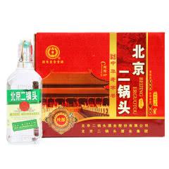 永丰牌北京二锅头清香型纯粮酒(出口型小方瓶)绿标42度(整箱装)500ml*12瓶