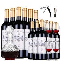 法国原酒进口罗蒂斯纳格红酒买一箱送一箱干红葡萄酒6支整箱共12支装  750ml*12