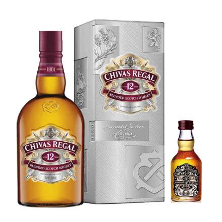 40°芝华士12年调配型威士忌700mL