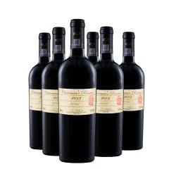 山西怡园酒庄庄主珍藏干红葡萄酒2013年份 国产红酒750ml*6