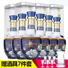 52°五粮液集团出品华彩人生精品蓝500ml(6瓶)商务用酒