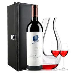 Opus One作品一号干红葡萄酒 美国原装进口红酒 单支 750ml