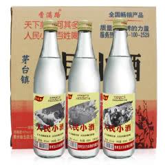 42°人民小酒大众口粮酒浓香型白酒500ml整箱12瓶装