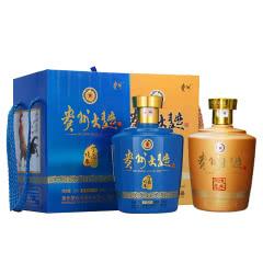 【戊戌狗年+丁酉鸡年】53°贵州大曲礼盒装2500ML(2瓶装)