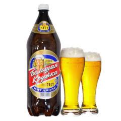 俄罗斯进口啤酒波罗的海大杯子啤酒琥珀啤酒1.35L