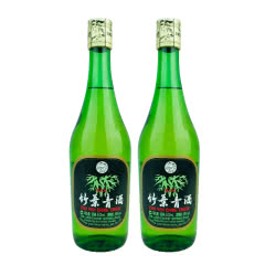 老酒 45º竹叶青酒500ml (2瓶装) 2012年