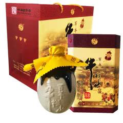 36°牛栏山(niulanshan)北京二锅头百年陈酿三牛 浓香型白酒400ml(2瓶装)
