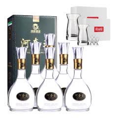 39°新河套王500ml(6瓶装)+精品酒具7件套*2