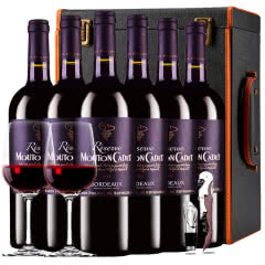 木桐嘉棣珍藏波尔多2012干红葡萄酒法国进口红酒礼盒装750ml*6