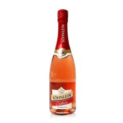 德国原瓶进口葡萄酒 Sohnlein 君来桃红起泡酒葡萄酒 750ml 桃红起泡酒