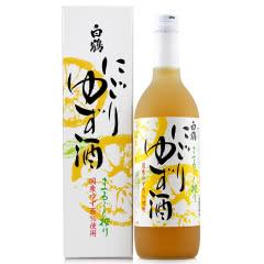 白鹤柚子利口酒女士果酒日本清酒梅酒720ml