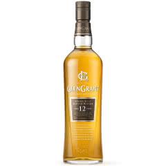 43°英国格兰冠GLEN GRANT 12年单一麦芽苏格兰威士 原装进口700ml