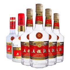 【老酒特卖】39° 五粮液组合老酒(1993-1998年)收藏老酒