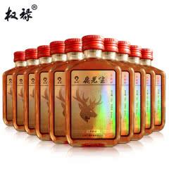 38°权禄鹿先生三鞭鹿鞭酒100ml(10瓶装)