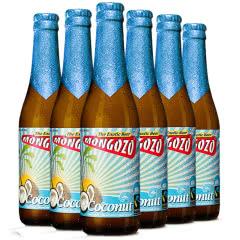 进口啤酒 比利时粉象厂梦果酌椰子果味啤酒Mongozo Mango 330ml*6瓶