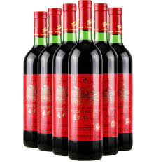 7°通天通天红全汁山葡萄酒740ml(6瓶装)