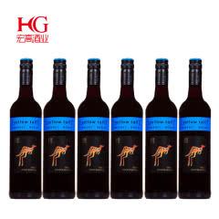 澳大利亚黄尾袋鼠加本力梅洛红葡萄酒750ml*6支