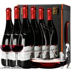 法国原瓶进口红酒教皇新堡芙华罗顿AOC级干红葡萄酒红酒整箱红酒礼盒装750ml*6
