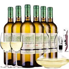 路易拉菲2009伯爵庄园干白葡萄酒干白整箱送醒酒器装750ml*6