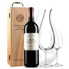 玛歌古堡干红葡萄酒 法国原瓶进口 1855列级庄 一级庄 玛歌正牌 2002年 750ml