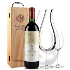 法国原瓶进口红酒 波亚克产区 木桐古堡干红葡萄酒 1993年 木桐正牌 单支 750ml