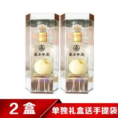 40°五粮液(股份)永不分梨酒亚克力礼盒装375ml(2盒装)
