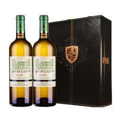 路易拉菲2009伯爵庄园干白葡萄酒礼盒装750ml*2