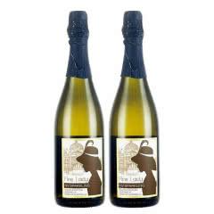 澳洲红酒澳大利亚FineLady芳莱迪精选霞多丽起泡酒750ml(2支装)