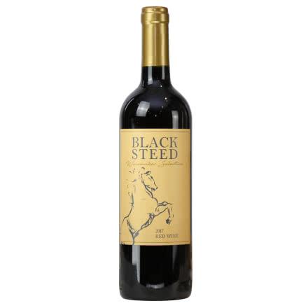 智利红酒(原瓶进口)黑马干红葡萄酒单支750ml